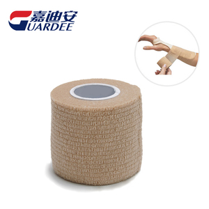 Non-woven 5cm*4.5m Medical Surgical Fixation Stretch Joint Cohesive Bandage