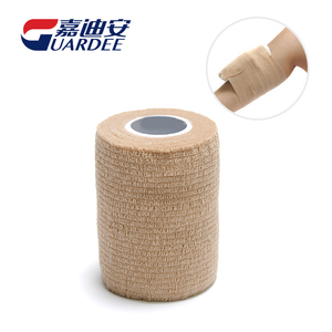 Non-woven 7.5cm*4.5m Medical Wrap Ice Cohesive Bandage