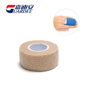 Non-woven 2.5cm*4.5m Medical Cohesive Bandage Served As Compression Wrap